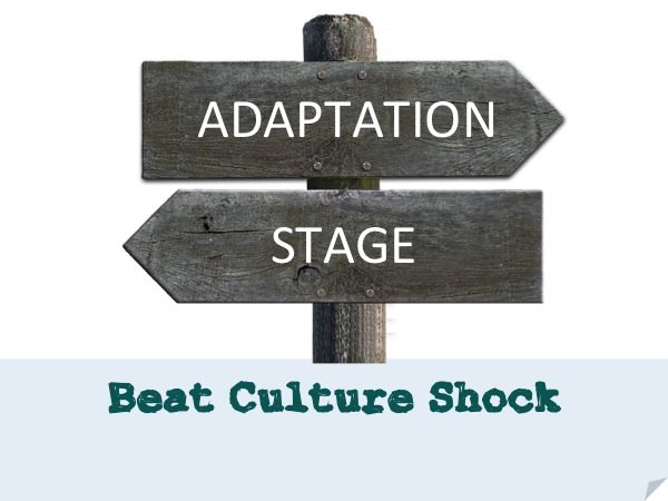 Beat culture shock (Adaptation stage and U-Curve Hypothesis)