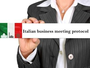 How to address people in Italian?