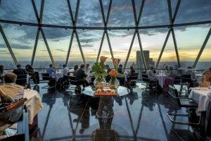 I migliori ristoranti con vista di Londra da non perdere