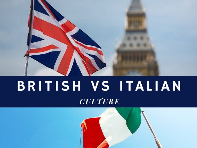 Cultural values dimensions: a study case – British VS Italian culture