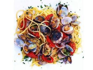 Spaghetti traditional italian pasta