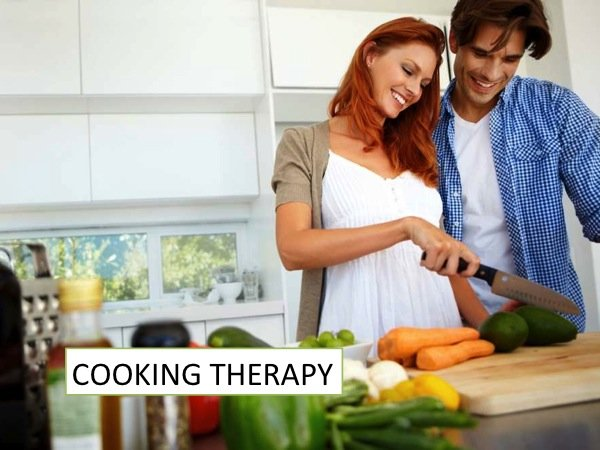 Cooking Therapy: the natural medicine against stress