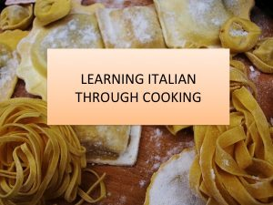 AXEL AND COLE LEARNING ITALIAN THROUGH COOKING