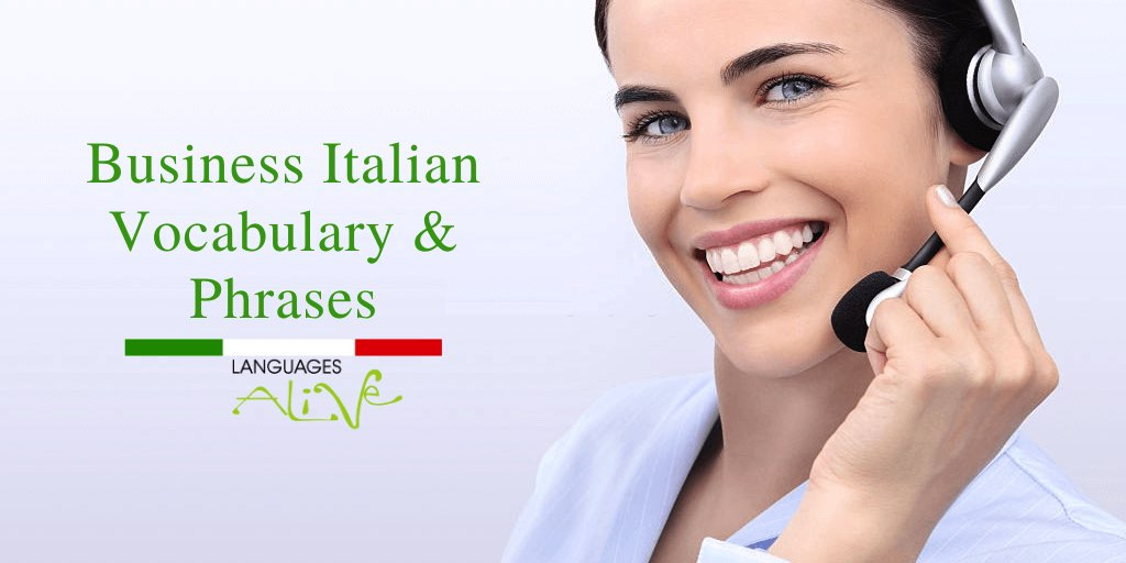 Essential Business Italian Vocabulary and Phrases