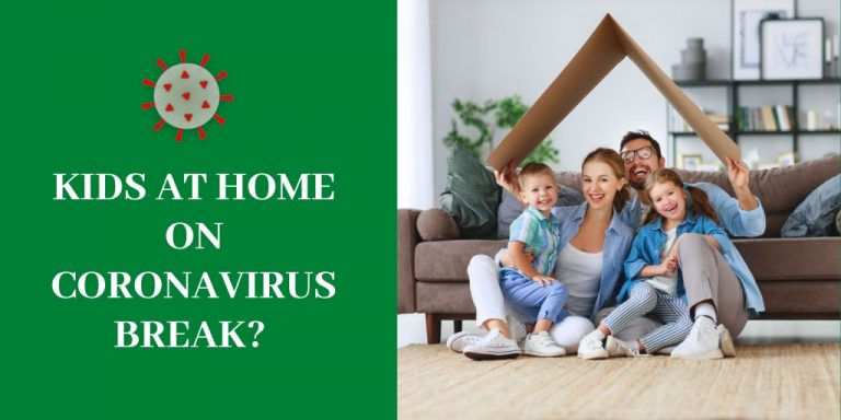 Kids at home on Coronavirus break?