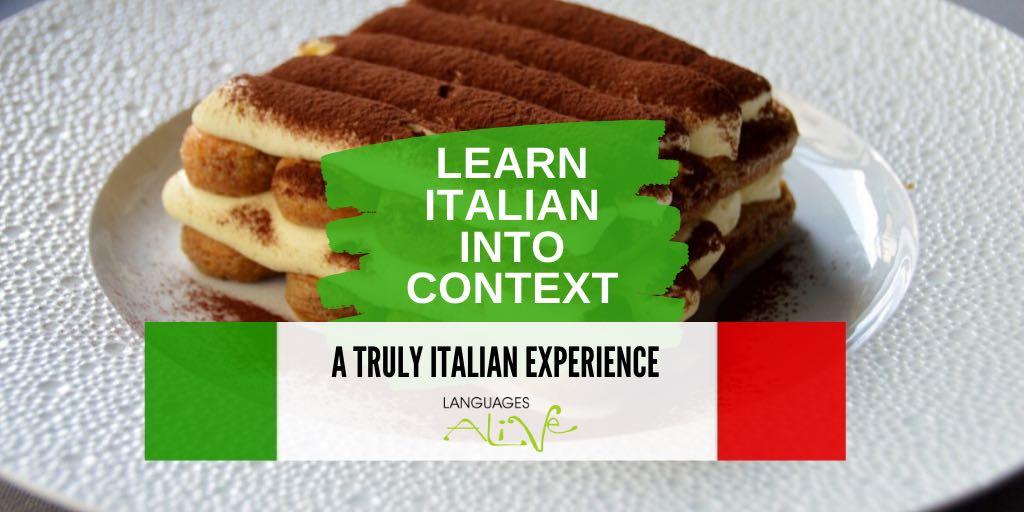 Basic Italian – Learn Italian into context