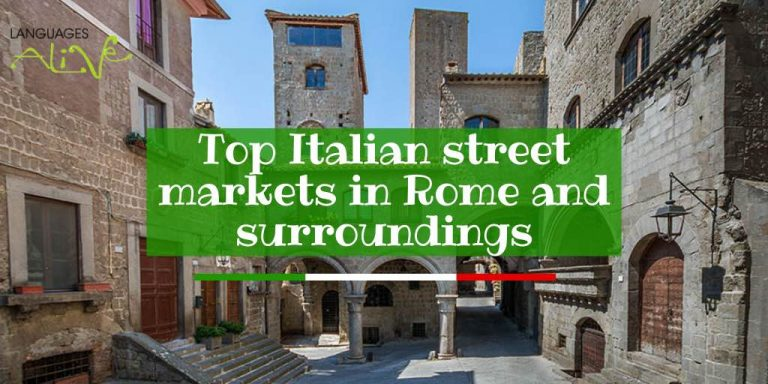 Top 10 street markets in Rome and surroundings