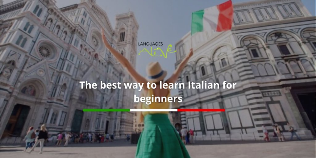 The best way to learn Italian for beginners