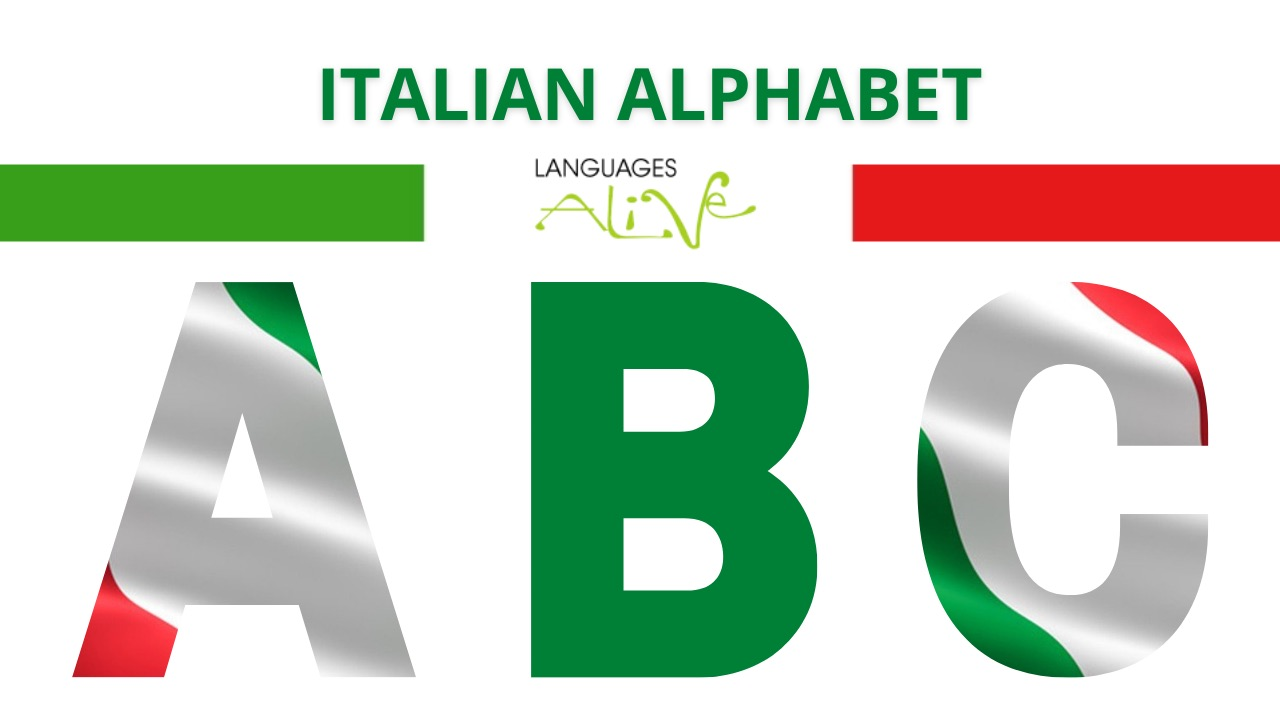 How many letters are in the Italian alphabet?