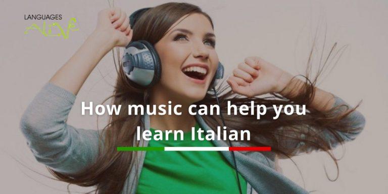 How music can help you learn Italian