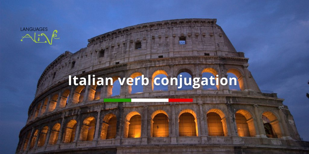 regular verbs in italian