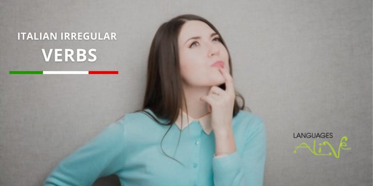 Read more about the article The most popular Italian irregular verbs