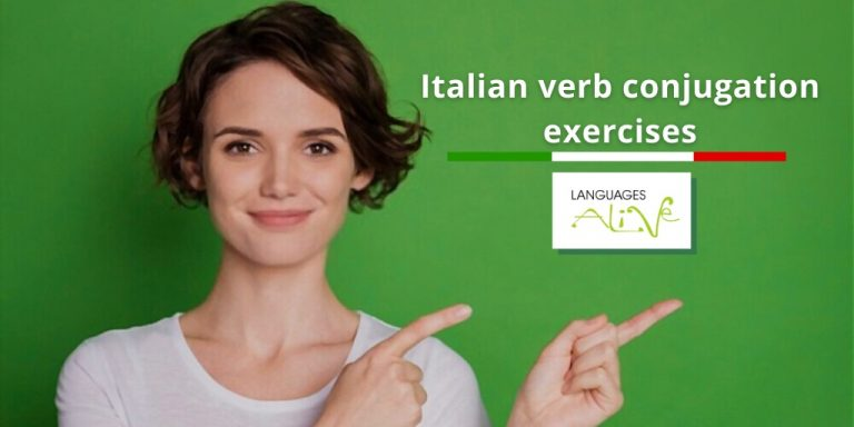 Read more about the article Italian verb conjugation exercises