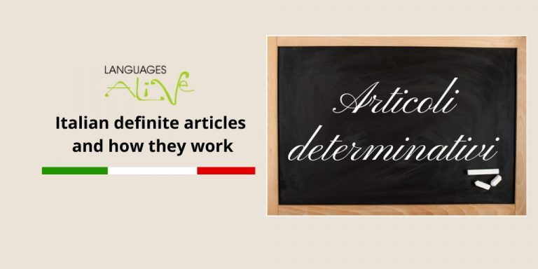 Read more about the article Italian definite articles and how they work