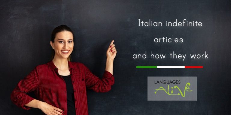 Read more about the article Indefinite article in Italian
