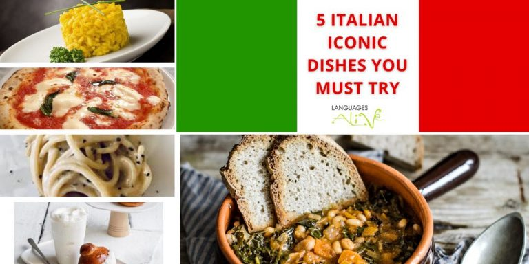 Read more about the article 5 Italian iconic dishes you must try