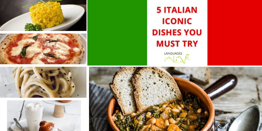 You are currently viewing 5 Italian iconic dishes you must try